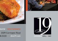 19 Okanagan Grill + Bar